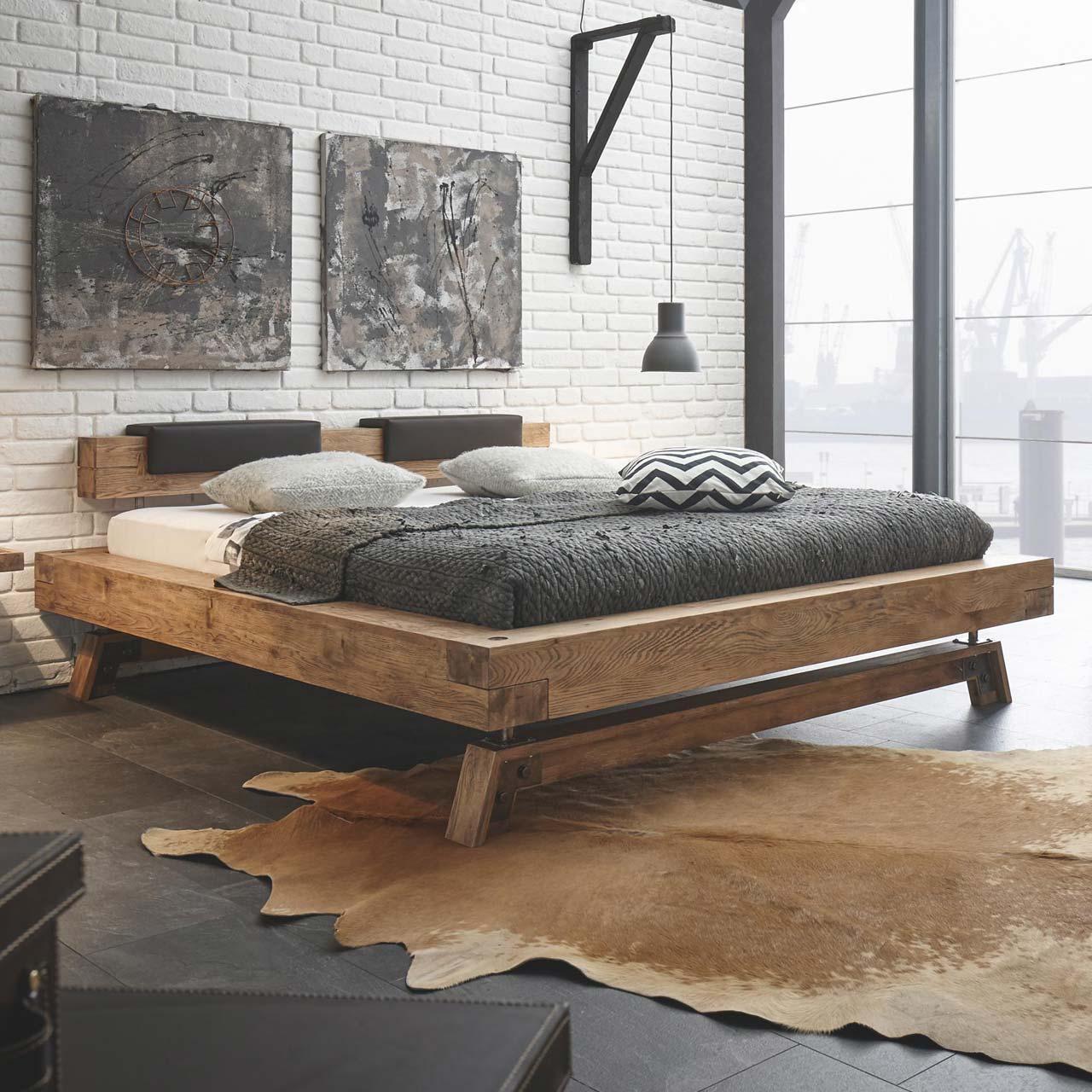 hasena massivholzbett oak vintage bloc 16 inka nakio. Black Bedroom Furniture Sets. Home Design Ideas