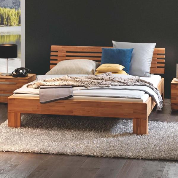 Hasena Wood-Line Massivholzbett Premium Litto Massa