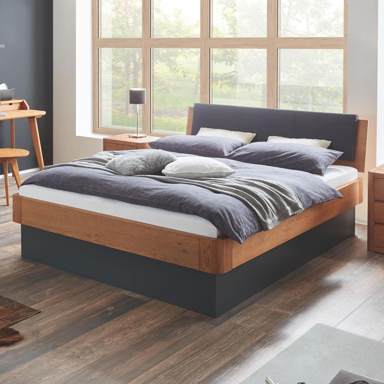 hasena oak line massivholzbett varus ravo pratico ron. Black Bedroom Furniture Sets. Home Design Ideas