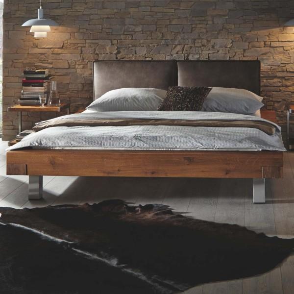 Hasena Oak-Wild Massivholzbett Aosta 16 Dorma Mico
