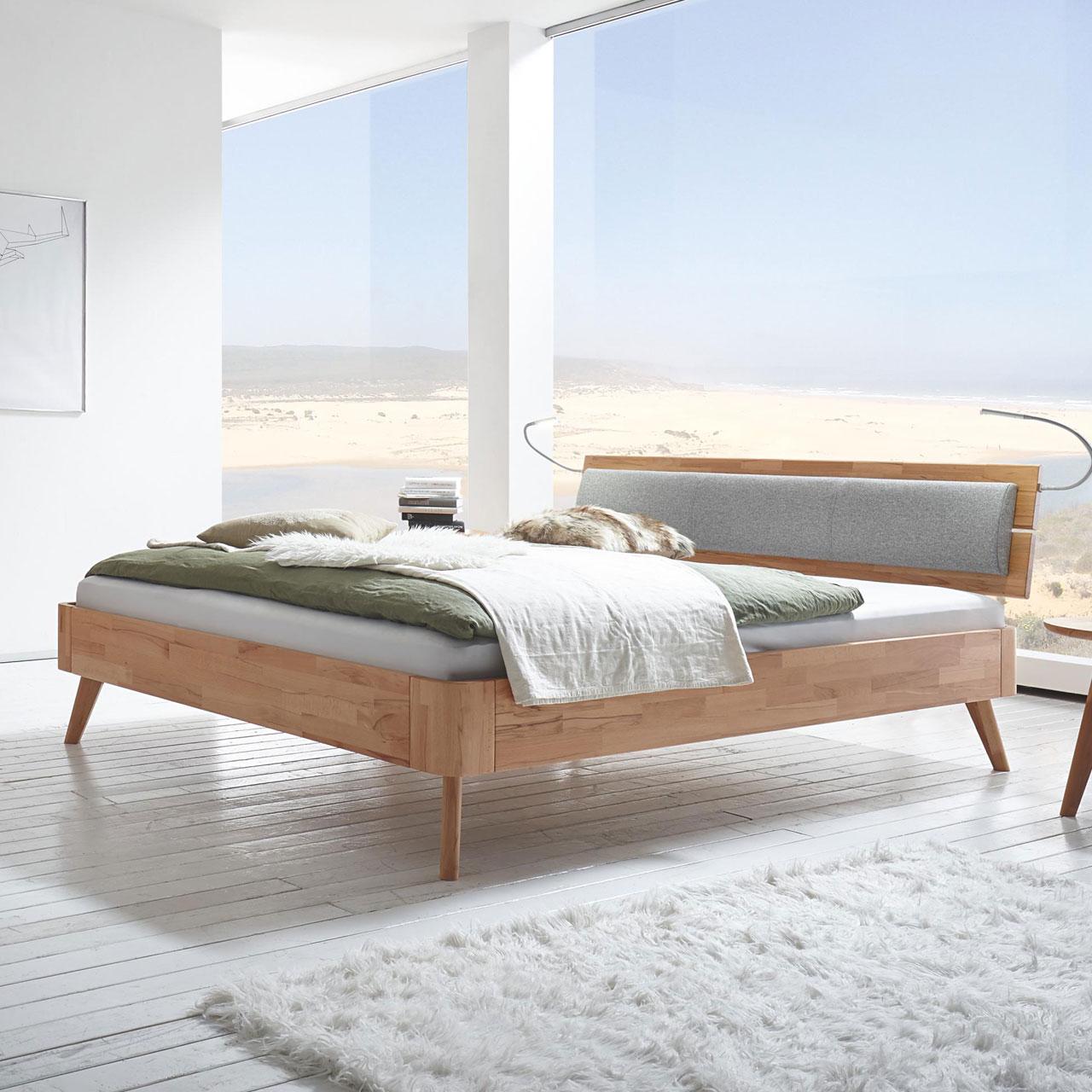 hasena fine line massivholzbett duetto lumo masito massivholzbetten betten matratzen. Black Bedroom Furniture Sets. Home Design Ideas