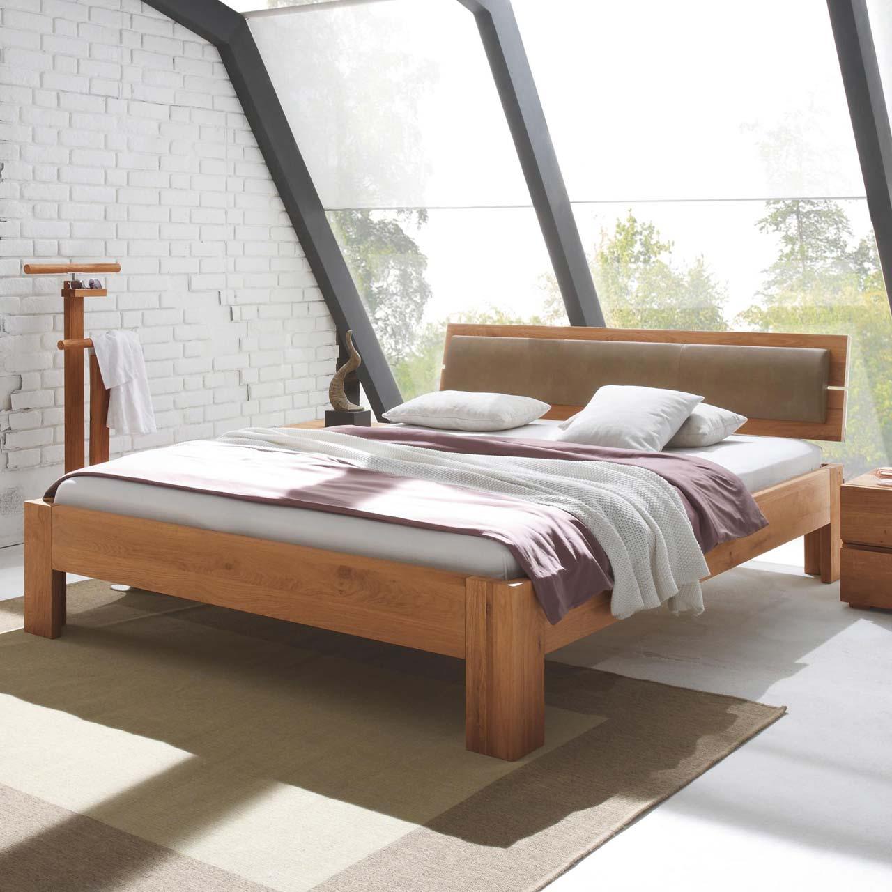 hasena oak line massivholzbett alpa lumo corno. Black Bedroom Furniture Sets. Home Design Ideas