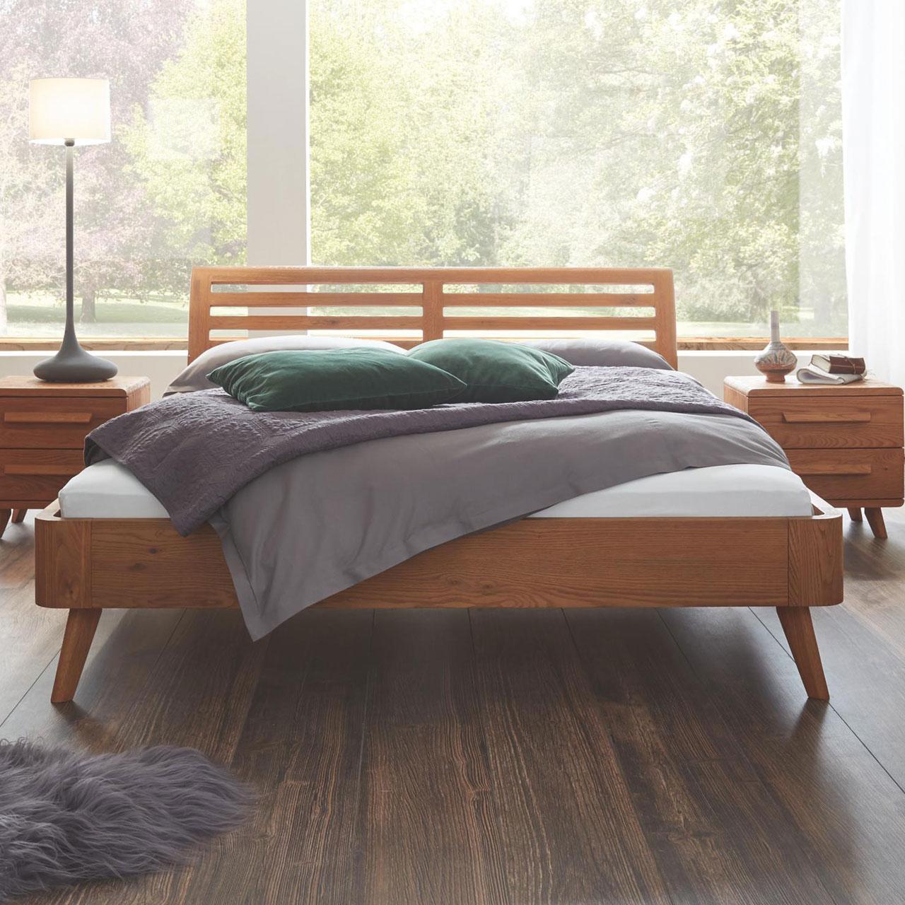 hasena oak line massivholzbett soleo masito. Black Bedroom Furniture Sets. Home Design Ideas